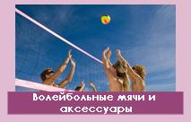 Волейбольные мячи и аксессуары